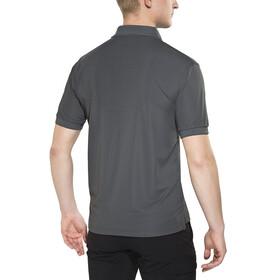 Fjällräven Crowley Piqué Bluzka z krótkim rękawem Mężczyźni szary